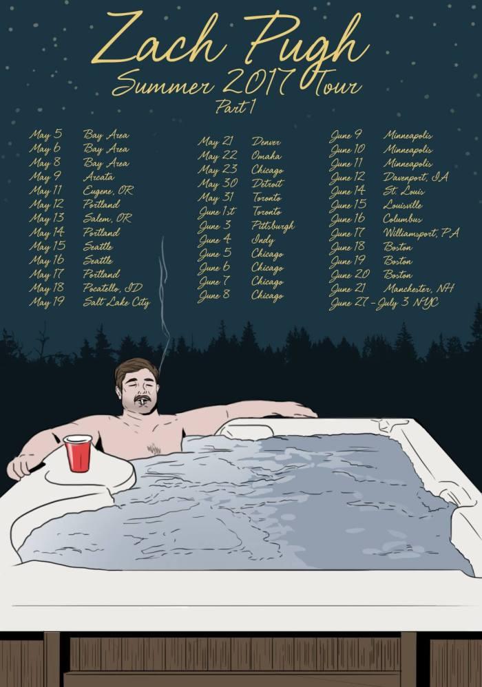 2017 Tour Poster